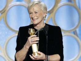 Glenn Close Receives Standing Ovation for Best Actress Win for 'The Wife'