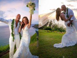 Dwayne Johnson AKA 'The Rock' Just Got Married To His Long Time Girlfriend Lauren Hashian