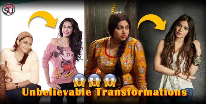 Take A Look At Bollywood celebs Journey Of Transformation