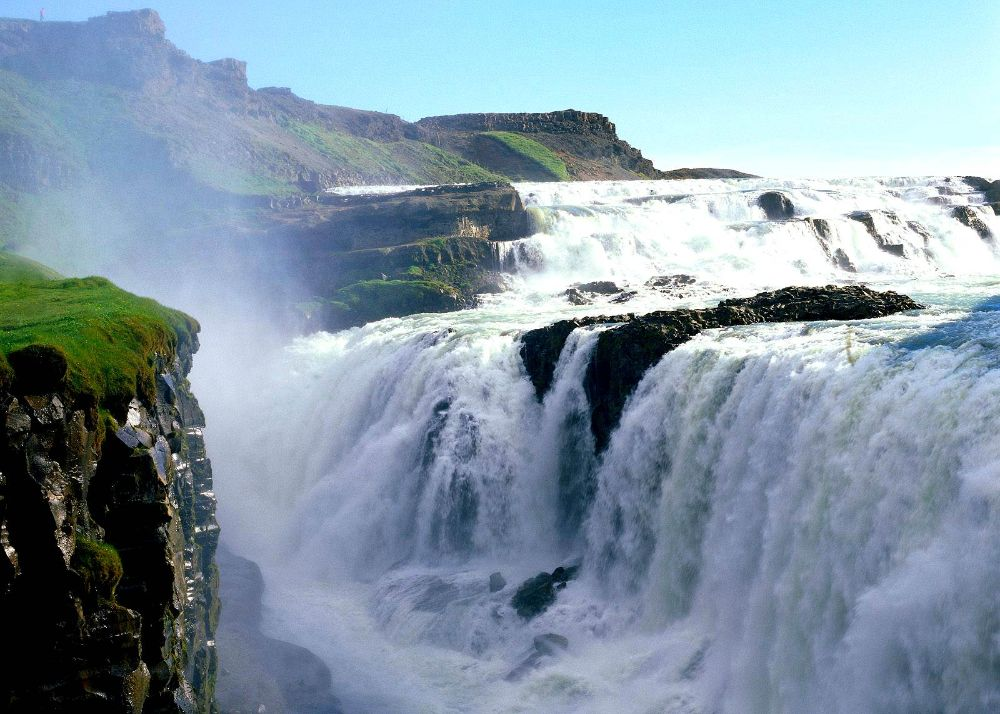 gullfoss fall