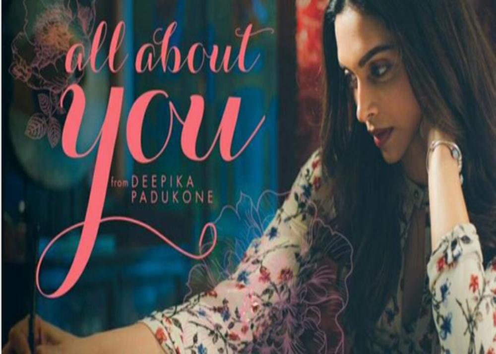 All About You brand Deepika Padukone