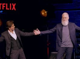 Promo For Netflix's Special With David Letterman & SRK