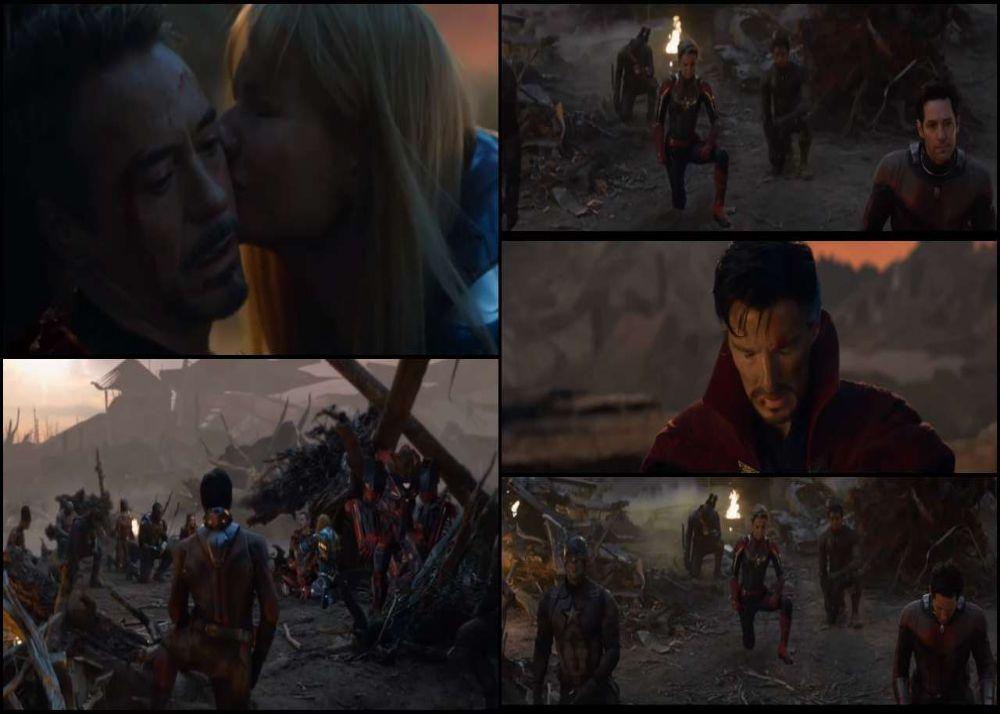 Avengers endgame where Iron Man died