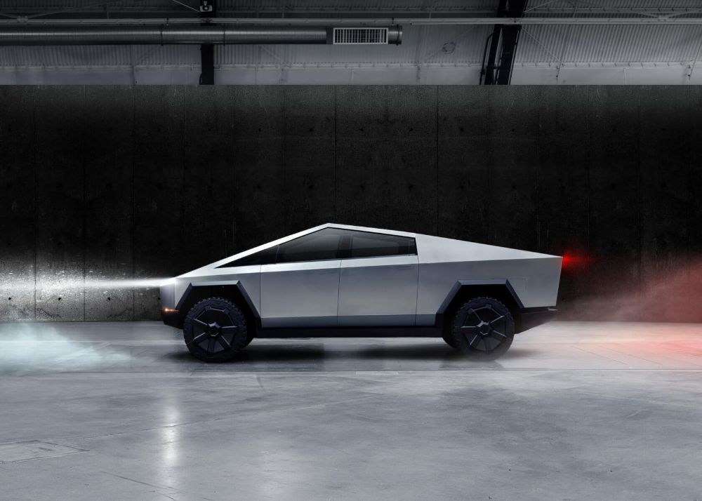 Tesla-cybertruck-300 miles