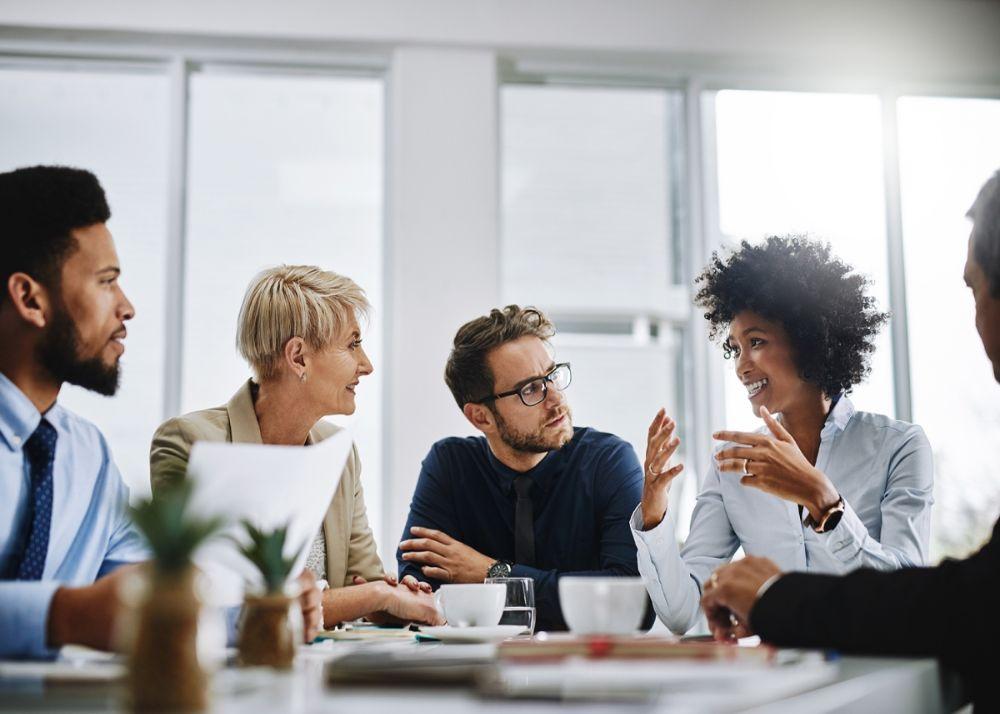 Meetings in offices