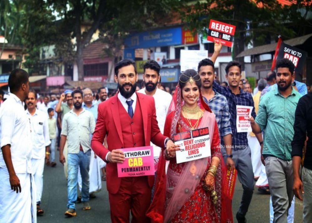 caa-protest-couple-wedding