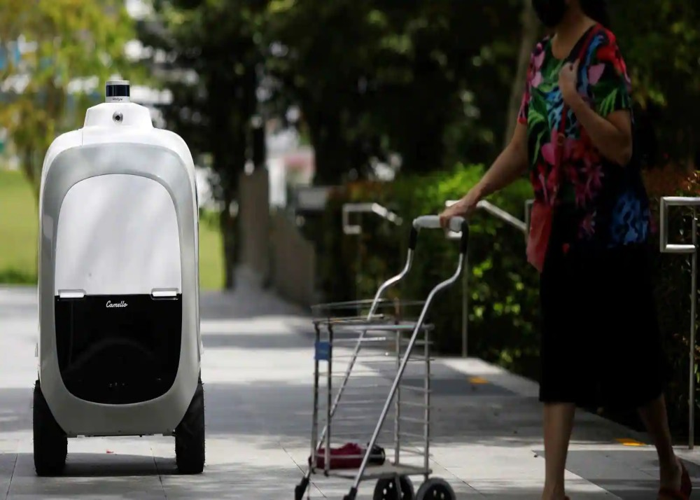 home-delivery robots