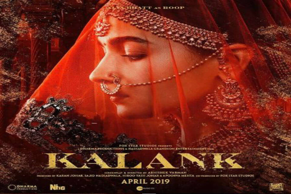 Alia Bhatt in Kalank as roop
