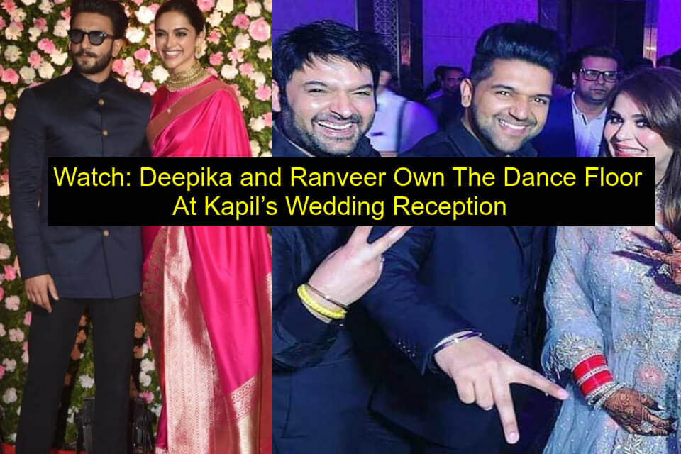 kapil wedding reception