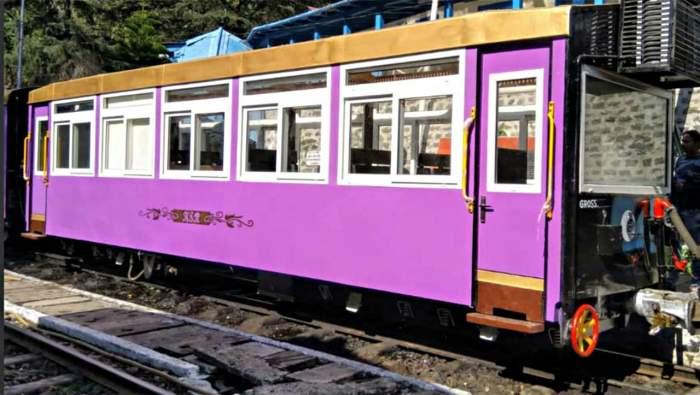 Kalka Shimla rail route