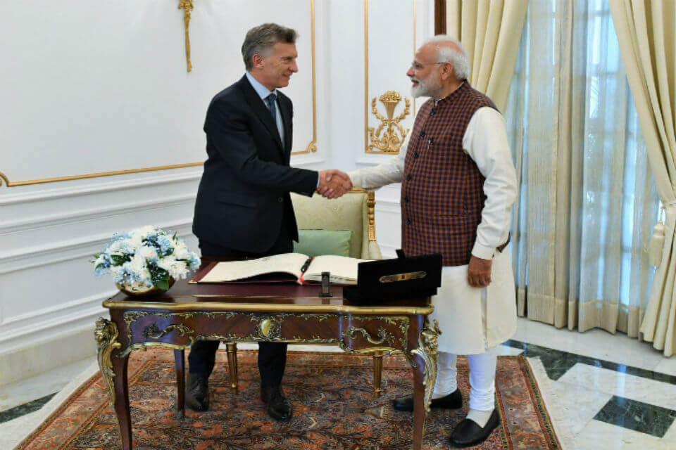 Modi Macri India Argentina