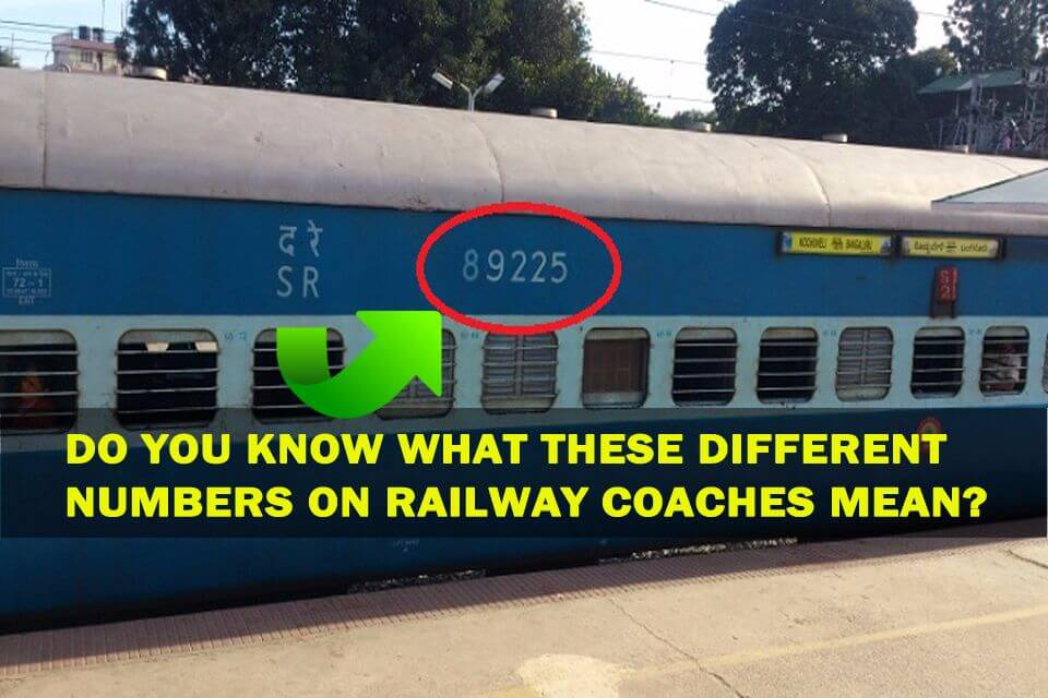 Numbers on Railway Trains