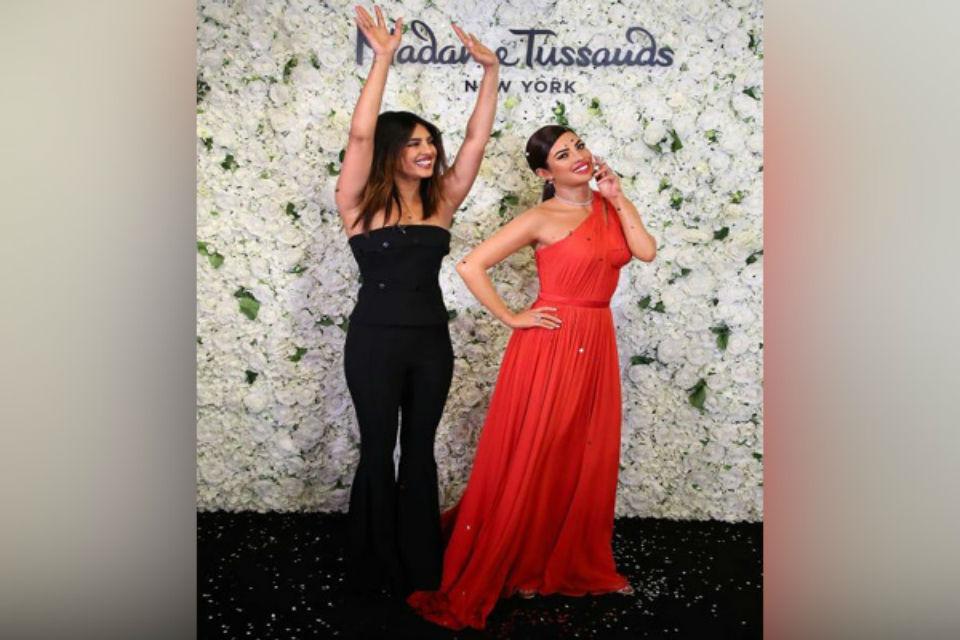 Priyanka Chopra At Madame Tussaud