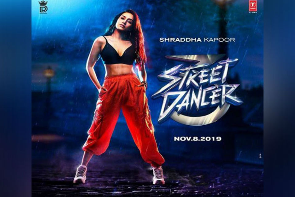Street dancer Shraddha