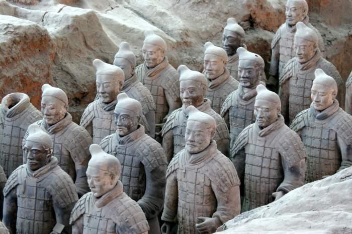 Tomb of Qin Shi Huang, China