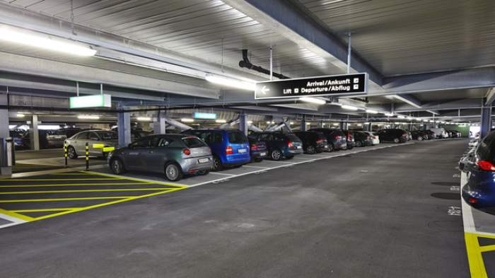 Zurich Switzerland car Parking