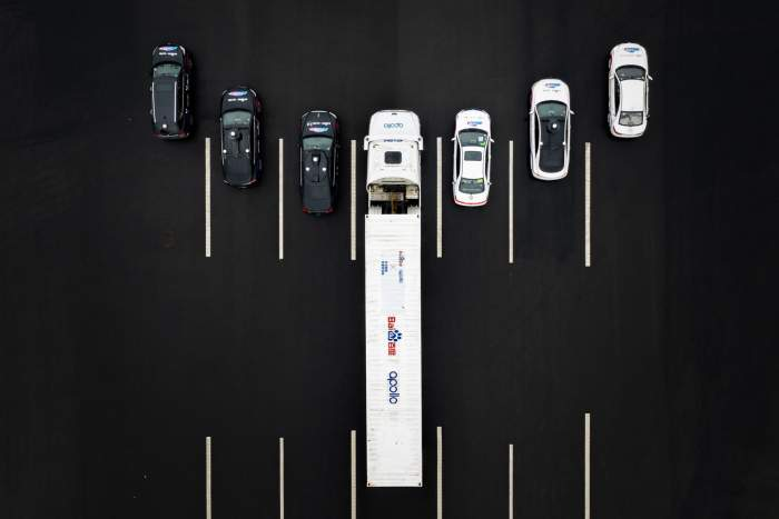 baidu reveals self driving cars