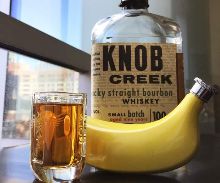 banana with alcohol