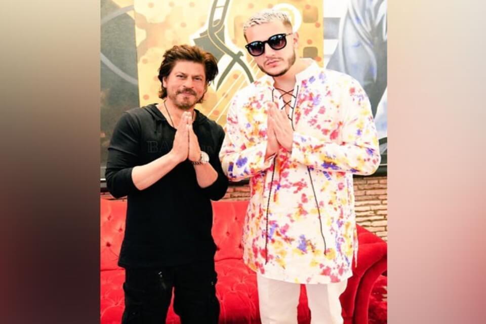 dj snake and shahrukh khan