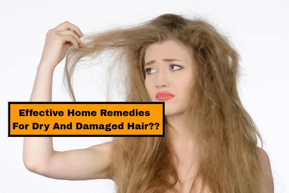 dry hair remedies