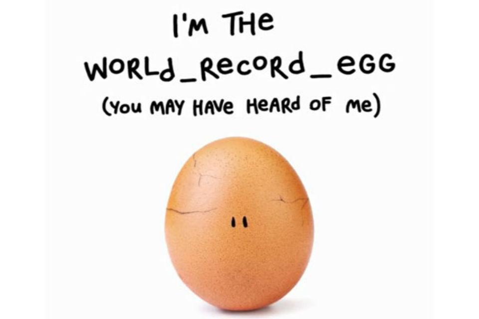 Popular Instagram egg
