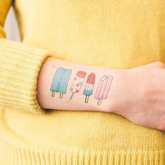 food lover tattoo