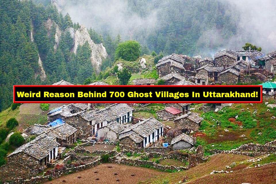 ghost villages in Uttarakhand