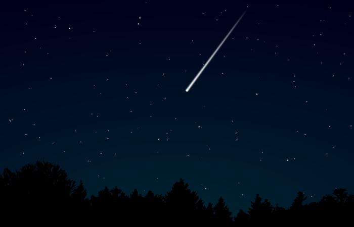meteor shower 2018