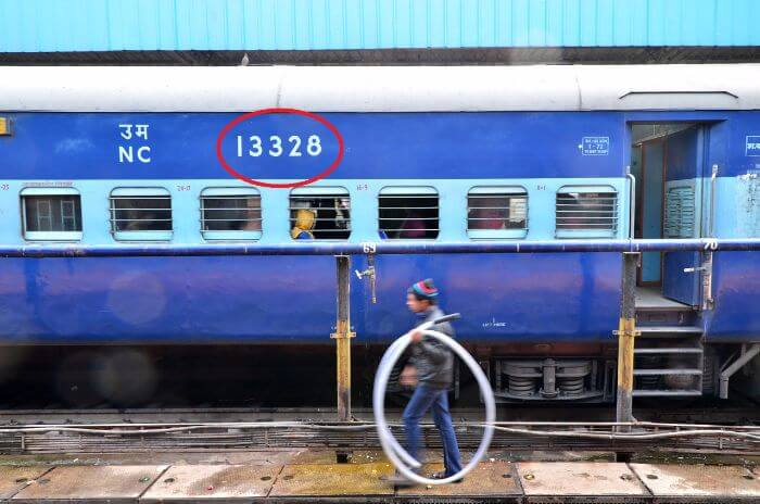 Meaning Of Numbers On Indian railway Coaches