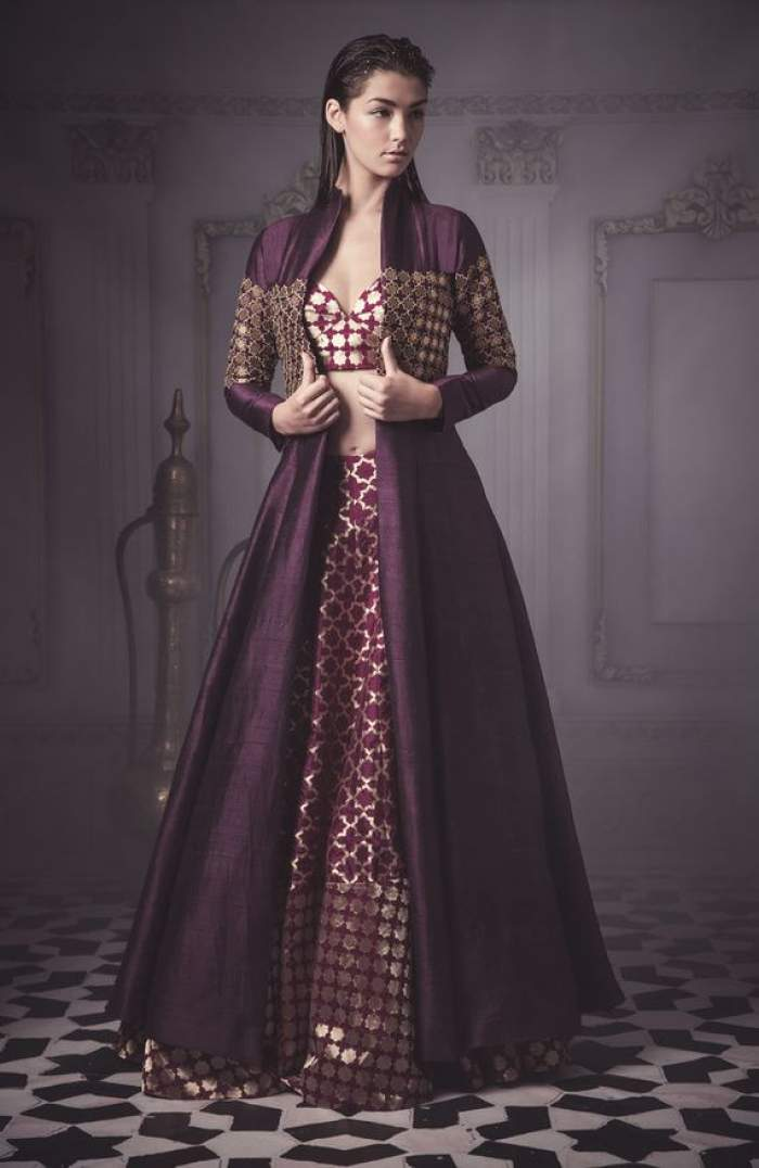 stylish cape or jacket made that matches your wedding outfit