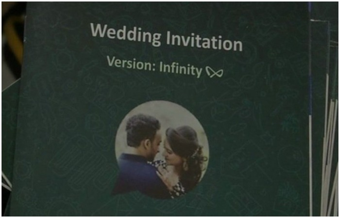 unique wedding card ideas